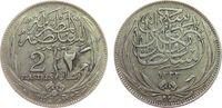 2 Piaster 1917 Ägypten Ag Hussein Kamil (1914-17), H ss  15,00 EUR  zzgl. 3,95 EUR Versand