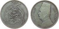 5 Piaster 1933 Ägypten Ag Fuad I (1922-52), AH1352 s-ss  11,50 EUR  zzgl. 3,95 EUR Versand