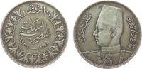 10 Piaster 1939 Ägypten Ag Fuad I (1922-52), kleine Randfehler ss  12,00 EUR  zzgl. 3,95 EUR Versand