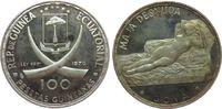 100 Pesetas 1970 Äquatorial Guinea Ag Goya, das nackte Mädchen, Stempel... 40,00 EUR  zzgl. 3,95 EUR Versand