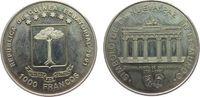 1000 Francs 1991 Äquatorial Guinea KN Brandenburger Tor, feiner Kratzer... 10,00 EUR  zzgl. 3,95 EUR Versand