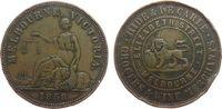 1 Penny-Token 1858 Australien Ku Melbourne, Hide & de Carle, Frau mir W... 30,00 EUR  zzgl. 3,95 EUR Versand