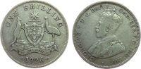1 Shilling 1926 Australien Ag Georg V schön  6,00 EUR  zzgl. 3,95 EUR Versand