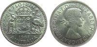 1 Florin 1961 Australien Ag Elisabeth II vz  7,50 EUR  zzgl. 3,95 EUR Versand