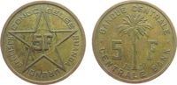 5 Francs 1952 Belgisch Kongo Me Ruanda Urundi ss  12,50 EUR  zzgl. 3,95 EUR Versand