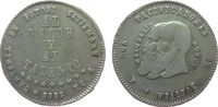 1/2 Melgarejo 1865 Bolivien Ag Republik, kurze Bärte ss  42,50 EUR  zzgl. 3,95 EUR Versand