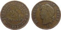 2 1/2 Centavos 1898 Chile Ku Indianerkopf schön  5,00 EUR  zzgl. 3,95 EUR Versand