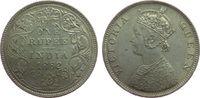 1 Rupie 1862 Britisch Indien Ag Victoria, C (Calcutta), Obv B / Rev. II... 85,00 EUR  zzgl. 6,00 EUR Versand