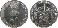 50 Rupie 1976 Indien Republik Ag FAO, B (Bombay) unz  30,00 EUR  zzgl. 3,95 EUR Versand