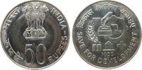 50 Rupie 1977 Indien Republik Ag FAO, Bombay unz  30,00 EUR  zzgl. 3,95 EUR Versand