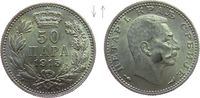 50 Para 1915 Jugoslawien Serbien Ag Peter I, ohne Signatur, Kehrprägung... 55,00 EUR  zzgl. 6,00 EUR Versand