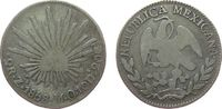 2 Reales 1858 Mexiko Ag Zs-Mo schön  15,00 EUR  zzgl. 3,95 EUR Versand