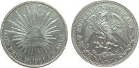 1 Peso 1901 Mexiko Ag Mo-AM vz-unc  65,00 EUR  zzgl. 6,00 EUR Versand