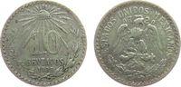 10 Centavos 1928 Mexiko Ag Wappen ss  5,00 EUR  zzgl. 3,95 EUR Versand