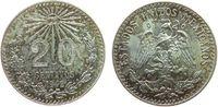 20 Centavos 1942 Mexiko Ag Adler, Patina unz  7,50 EUR  zzgl. 3,95 EUR Versand