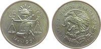 25 Centavos 1951 Mexiko Ag Waage ss-vz  5,00 EUR  zzgl. 3,95 EUR Versand