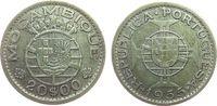 20 Escudos 1955 Mosambik Ag Wappen ss  9,00 EUR  zzgl. 3,95 EUR Versand