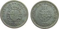 5 Escudos 1960 Mosambik Ag Wappen ss  4,00 EUR  zzgl. 3,95 EUR Versand