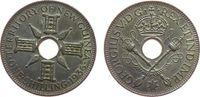 1 Shilling 1936 Neu Guinea Ag Georg V, feine Kratzer vz-unc  10,00 EUR  zzgl. 3,95 EUR Versand