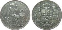 1 Sol 1915 Peru Ag sitzende Freiheit vz  42,50 EUR  zzgl. 3,95 EUR Versand