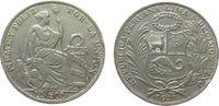 1 Sol 1931 Peru Ag Wappen, Randstöße ss  20,00 EUR  zzgl. 3,95 EUR Versand