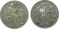 1 Sol 1934 Peru Ag Wappen unz  40,00 EUR  zzgl. 3,95 EUR Versand