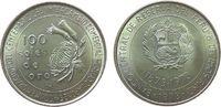 100 Sol 1973 Peru Ag Handelsvertrag mit Japan unz  22,50 EUR  zzgl. 3,95 EUR Versand