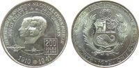 200 Sol 1974 Peru Ag Pioniere der peruanischen Luftfahrt, etwas fleckig... 25,00 EUR  zzgl. 3,95 EUR Versand