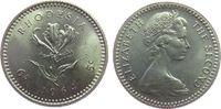 5 Cents 1964 Rhodesien KN Elisabeth II, 6 Pence, Lilie unz  1,50 EUR  zzgl. 3,95 EUR Versand