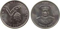 10 Seniti 1981 Tonga KN FAO, Banane unz  1,50 EUR  zzgl. 3,95 EUR Versand