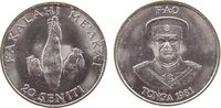 20 Seniti 1981 Tonga KN FAO, Yamswurzel unz  1,70 EUR  zzgl. 3,95 EUR Versand