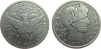 1/2 Dollar 1910 USA Ag Barber, S (San Francisco), gereinigt fast ss  40,00 EUR  zzgl. 3,95 EUR Versand