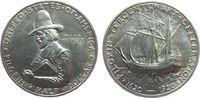 1/2 Dollar 1920 USA Ag Pilgrim, winziger Randfehler unz  75,00 EUR  zzgl. 6,00 EUR Versand