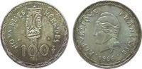 100 Francs 1966 Vanuatu Ag Neue Hebriden, Patina vz  25,00 EUR  zzgl. 3,95 EUR Versand