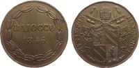 1 Baiocco 1846 Vatikan Ku Pius IX, I R, etwas poröser Schrötling, klein... 52,50 EUR  zzgl. 6,00 EUR Versand