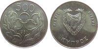 500 Mils 1980 Zypern KN Olympiade Sommerspiele, kleiner Fleck vz-unc  5,00 EUR  zzgl. 3,95 EUR Versand
