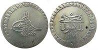 1 Piaster 1761 Türkei Billon Mustafa III, AH1171/5, Prägeschwäche ss-  56,50 EUR  zzgl. 6,00 EUR Versand