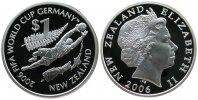 Neuseeland 1 Dollar Ag Torwart, Fußballweltmeisterschaft in Deutschland 2006