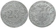 Komoren - Comores 25 Centimes o.J.(1915) f...