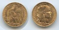 20 Francs  1910  Frankreich  M#3346 - Dritte Republik 1870-1940 vz+  285,00 EUR
