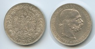Doppelgulden 1891 Österreich M#3604 - Kaiser Franz Joseph I.1848-1916 vz  220,00 EUR