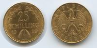 25 Schilling 1929 Österreich M#3384 - Österreich 25 Schilling 1929 vz  265,00 EUR