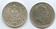 3 Mark 1911 D Bayern M#3018 Regentschaftjubiläum Prinzregent Luitpold v... 44,00 EUR