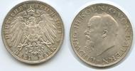 3 Mark 1914 D Bayern M#3022 - Ludwig III. 1913-1918 vorzüglich-stempelf... 55,00 EUR