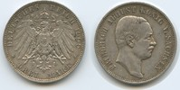 3 Mark 1909 E Sachsen M#3030 - Friedrich August III. Sehr schön  36,00 EUR
