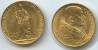 100 Lire Gold 1929 Vatikan M#3345 100 Lire 1929 Gold Pius XI. vorzüglich  490,00 EUR
