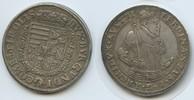 Österreich Tirol 1 Taler M#3389 - fast Vorzügliche Erhaltung Hall Erzherzog Ferdinand II. 1564-1595
