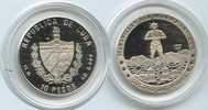 10 Peso 1997 Kuba M#3478 Kuba 10 Pesos 1997 Rhodos Koloss proof  26,00 EUR
