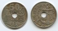 50 Centimos 1949 (51) Spanien M#3472 Pfeile nach unten!   15,00 EUR