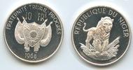 10 Francs 1968 Niger M#3622 - Niger 10 Francs 1968 Löwe PROOF  50,00 EUR